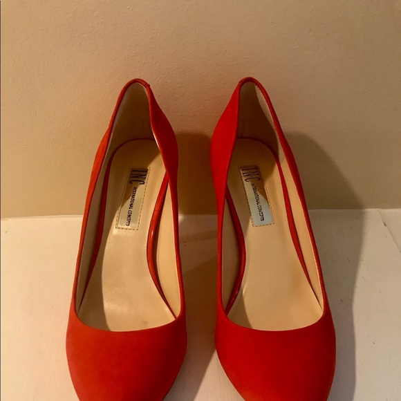 INC International Concepts Shoes - Bright Red INC International Concepts Heels